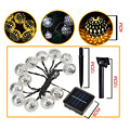 10 LED Solar Powered Led  Moroccan String Lights Christmas Wedding Party Home Decoration  LED solar fairy lights