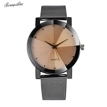Trend Ladies Watches Crystal Stainless Metal Analog Quartz Wrist Watch Bracelet wholesale v
