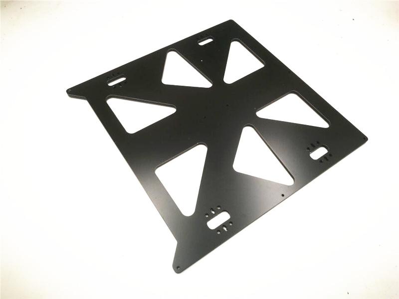 Funssor 300x300mm heated bed support Aluminum composit CNC made Y Carriage Plate for Prusa i3