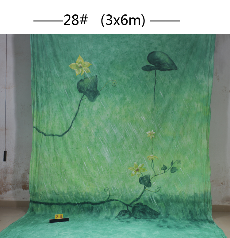 10ft*20ft Hand Painted Muslin scenic Backdrops for photography ,photo studio background backdrop28,wedding photography backdrops