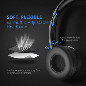 Image 3 - 2PCS Mpow PA071 Wired Headphones Headset With Noise Reduction Sound Card 3.5mm/ USB Plug Earphone For Call Center PC Phones Pad