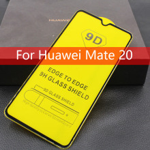 9D Full Cover Tempered Glass For Huawei Mate 20 Glue Screen Protector Film Lite Mate20Lite Phone