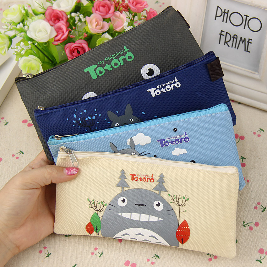 Cute Kawaii Totoro Pencil Case Stationery Supplies