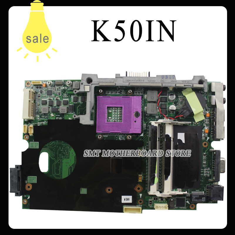 Best quality K50IN k40IN laptop motherboard for ASUS X8AIN X5DIN K40IN100% tested with free shipping  цена