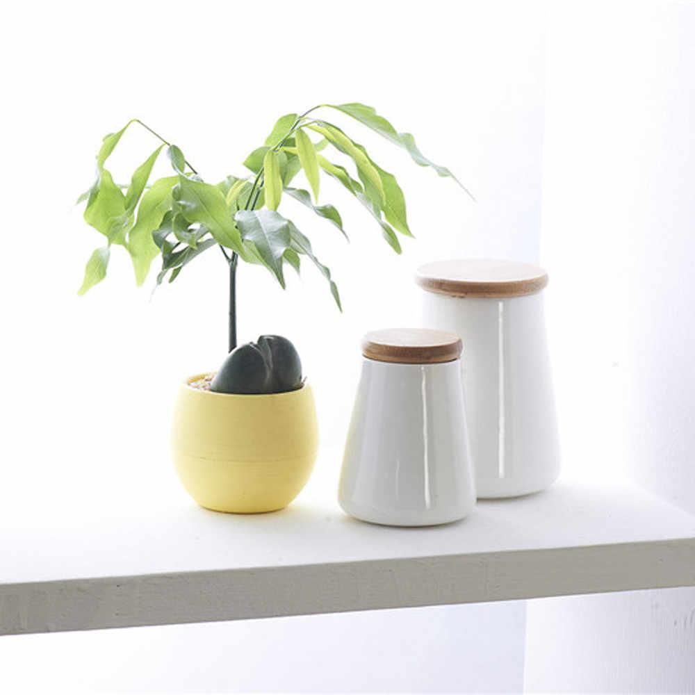 Mini สีสันรอบพลาสติก Plant กระถางดอกไม้บ้านประดับตกแต่งสำนักงานกระถางดอกไม้หม้อห้องนั่งเล่นขาย