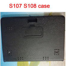 Case de cuero para 10.1 pulgadas bmxc k107 s107 s108 k108 3g 4G tablet Octa Core Android 5.1 GPS Bluetooth 10.1 tablet pc