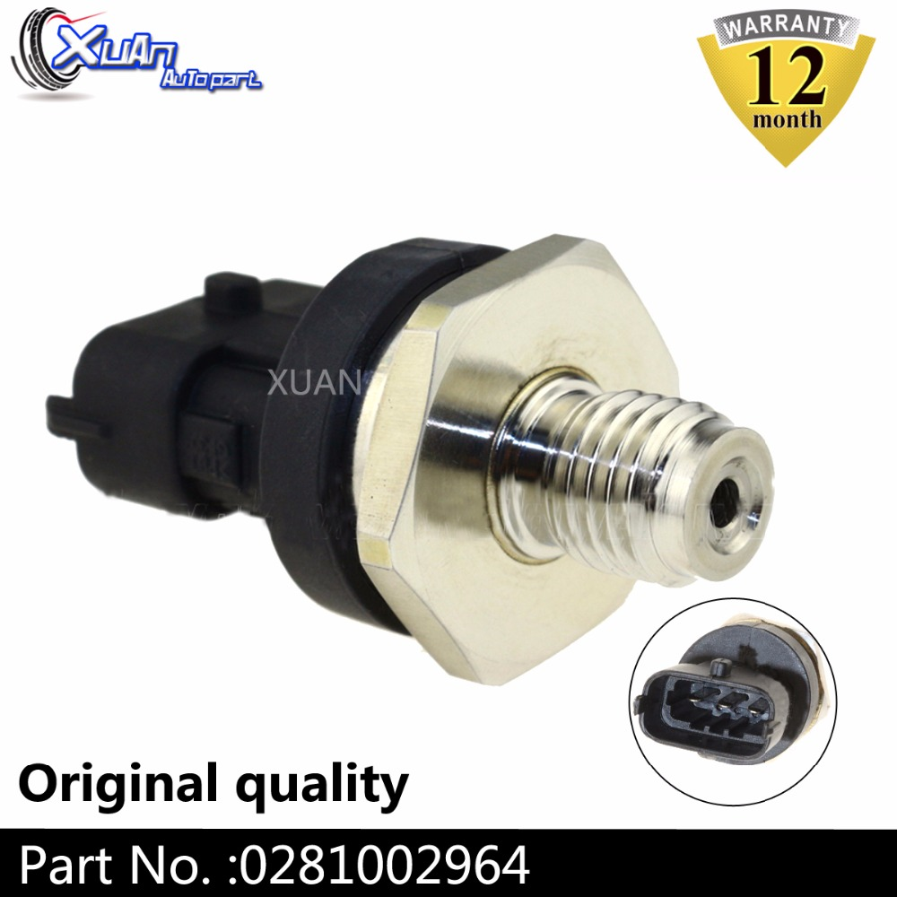 XUAN 0281002964 Diesel Common Rail Fuel High Pressure Sensor Regulator For FIAT IDEA MAN TGL NEW HOLLAND CUMMINS VOLVO image