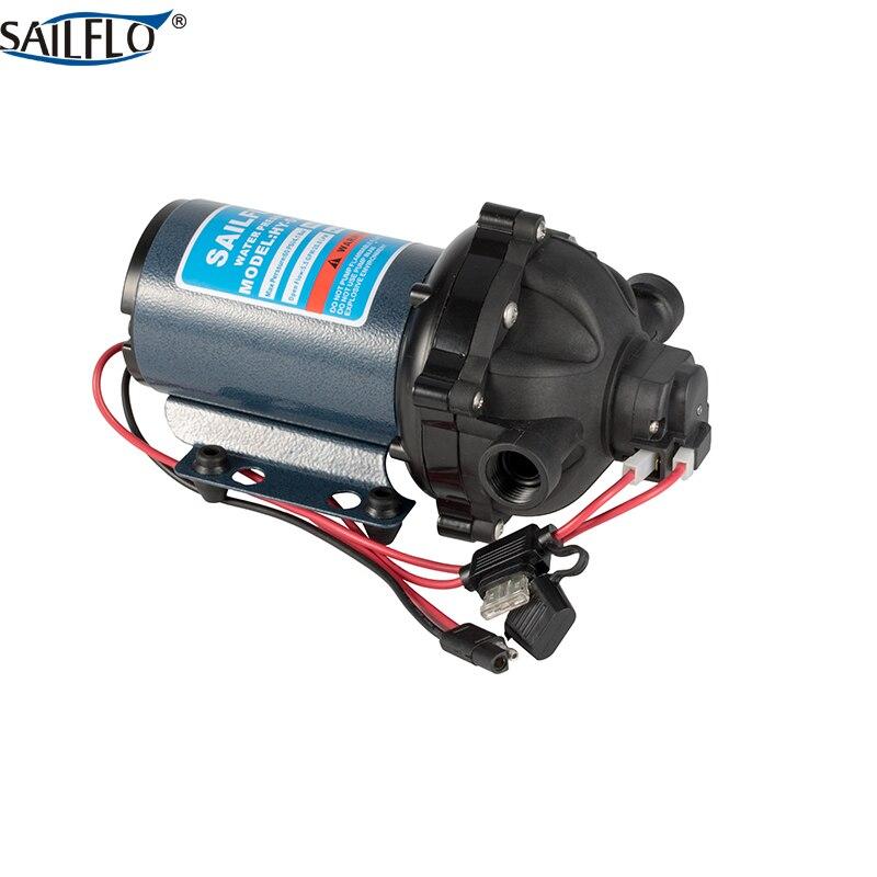 12 В dc водяной насос 60psi 4.1bar 5.5GPM 20.8LPM sailflo Электрический стиральная машина насос шайбы и