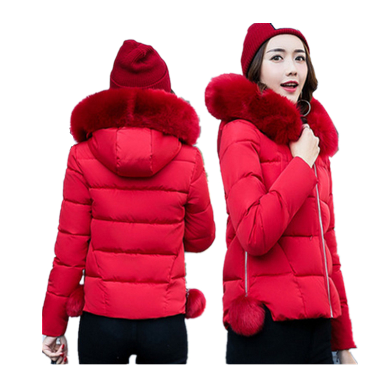 2017 New Autumn Winter font b Jacket b font Coat font b Women b font Parka
