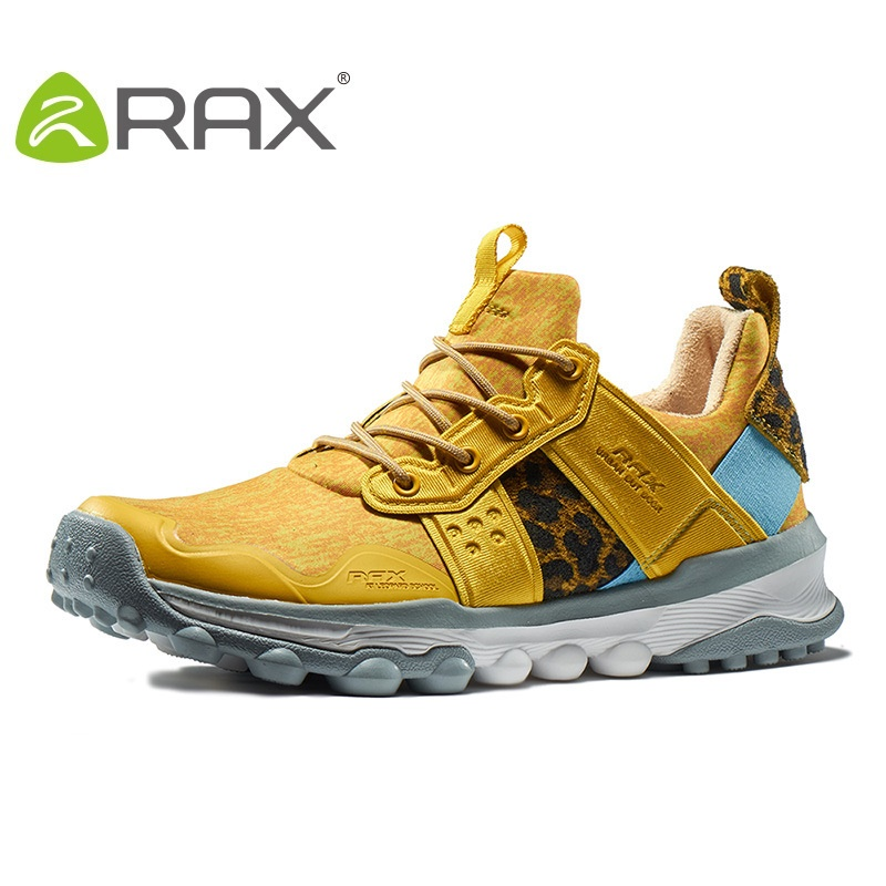 Rax Women Outdoor Shoes Men Hiking Shoes 2017 Autumn And Winter Slip Damping Lovers Sneakers B2621