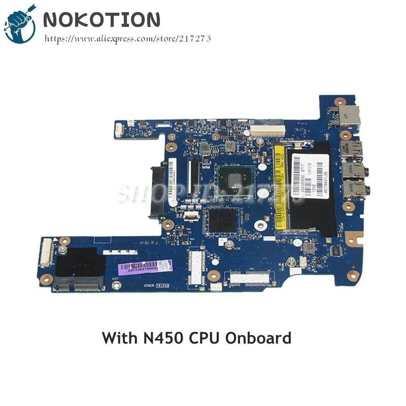 NOKOTION For Dell MINI 1012 Laptop Motherboard NIM10 LA-5732P CN-0JMN8H 0JMN8H MAIN BOARD DDR2 N450 CPU Onboard