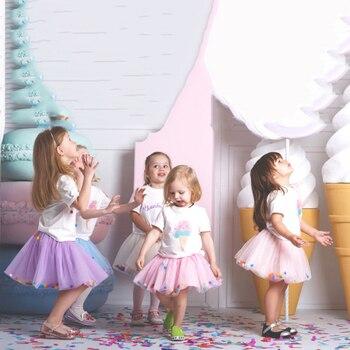 Infant Tutu Skirt Baby Girl Pettiskirt Ball Gown Girls Princess Party Ballet Dance Tulle Skirts Newborn Mini Baby Girls Clothes 1