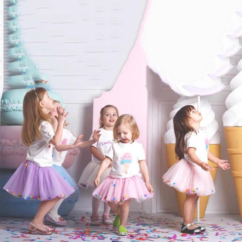 Falda tutú infantil bebé niña Pettiskirt vestido de baile niñas princesa fiesta Ballet danza tul faldas recién nacido Mini Niñas Ropa