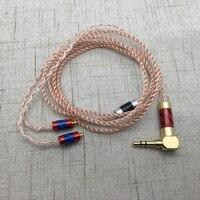 72 Noyaux DIY SE215 MMCX Jack Écouteurs Câbles Casque HIFI fil Ligne pour Shure SE535 SE846 UE900 Remplaçable Audio Amélioré câble