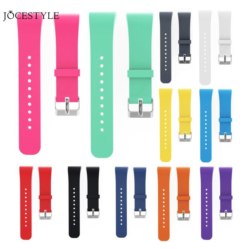 Silicone Wristband Watch Band Replacement Strap for Samsung Gear Fit 2 SM-R360/Fit2 Pro R365 Strap Wristband Watch Band 10 Color for gear fit2 watch band gear fit2 stainless steel bracelet strap replacement band wristband for samsung gear fit 2 sm r360
