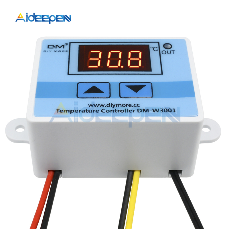HTB17TOzaJjvK1RjSspiq6AEqXXa2 XH-W3001 W3002 12V 24V 220V LED Digital Control Thermostat Temperature Microcomputer Switch Thermometer Thermoregulator Sensor