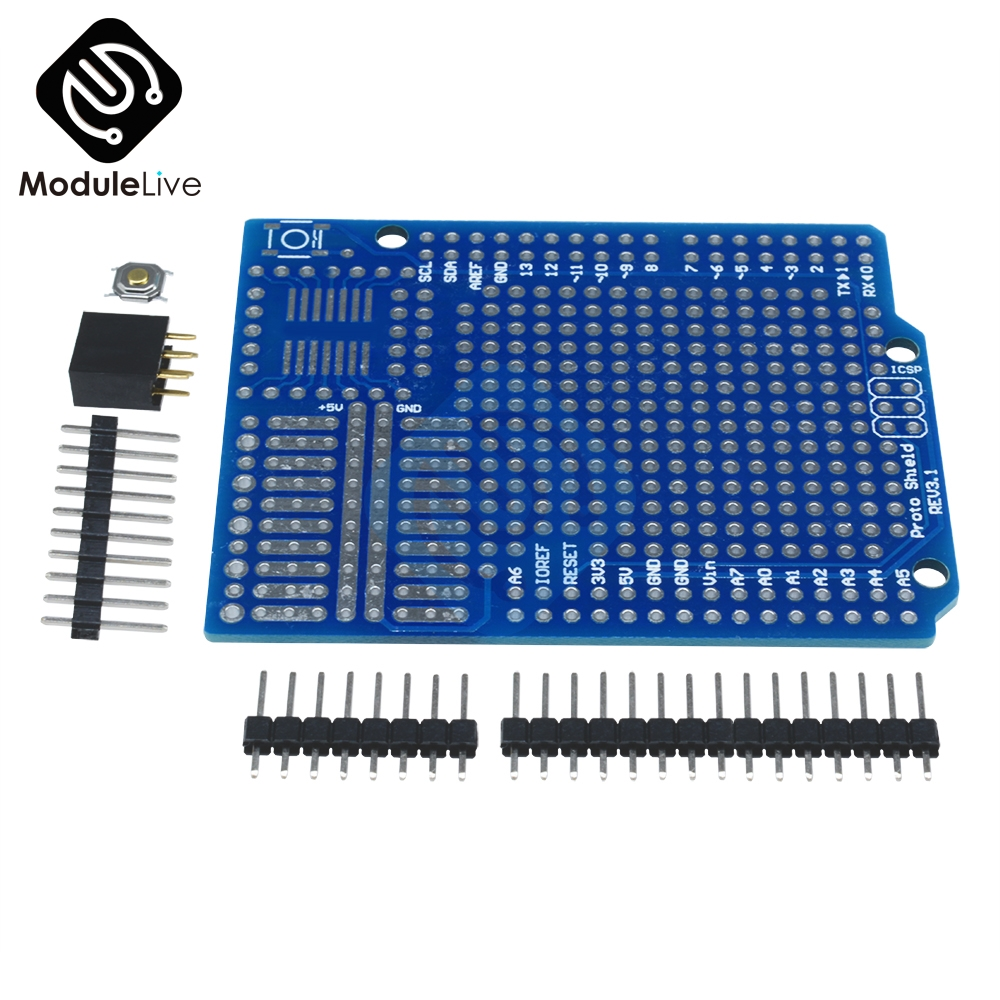 Standard Proto Screw Shield Board For Arduino Compatible Improved version support A6 A7 Diy Kit Electronic PCB Board Module