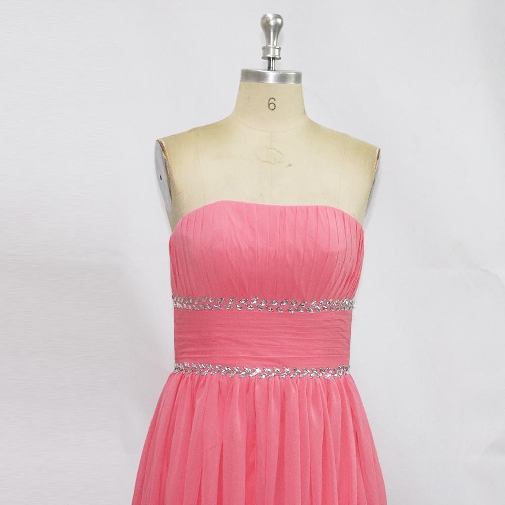 Ziemlich Hellrosa Lange Brautjunferkleider Galerie - Hochzeit Kleid ...