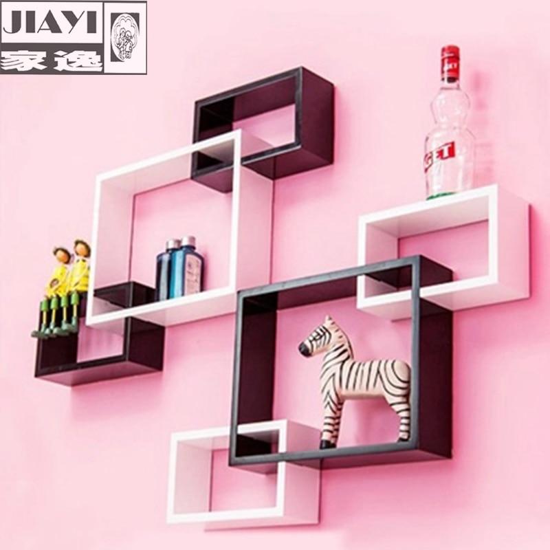 Beautiful Living Room Wall Shelves Gallery - Living Room Designs ...