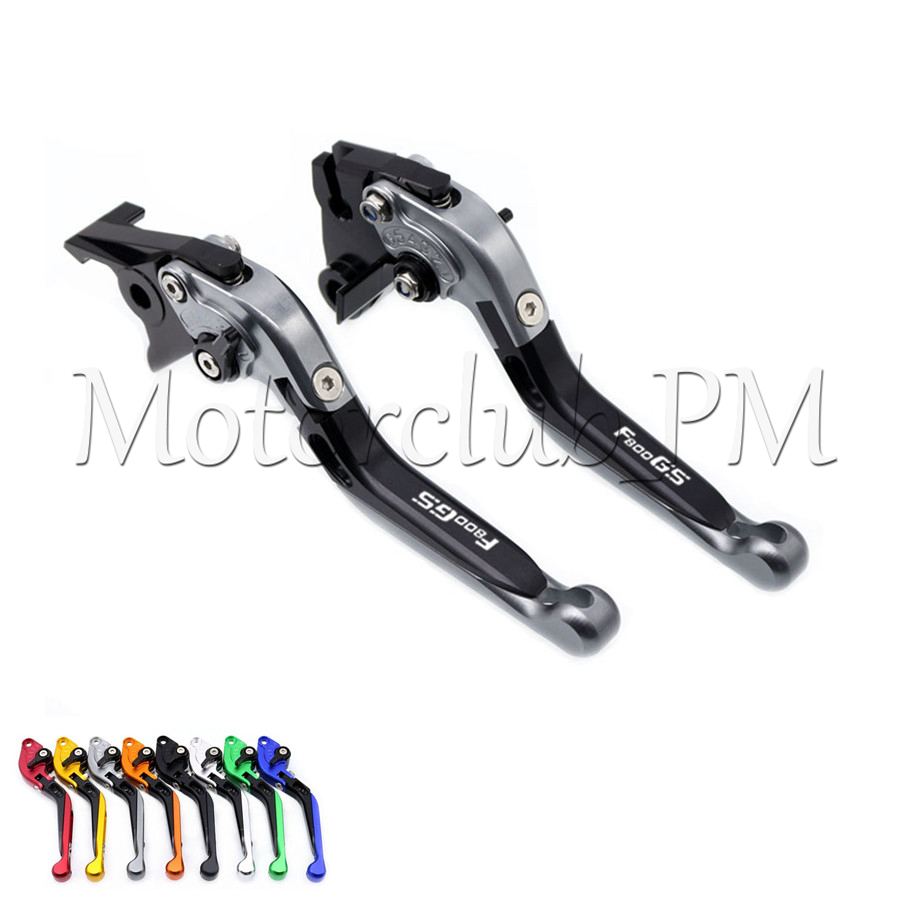 Folding Extendable Brake Clutch Levers For BMW F800GS F800 GS/Adventure 2008-2017 2009 2010 2015 2016 Gray