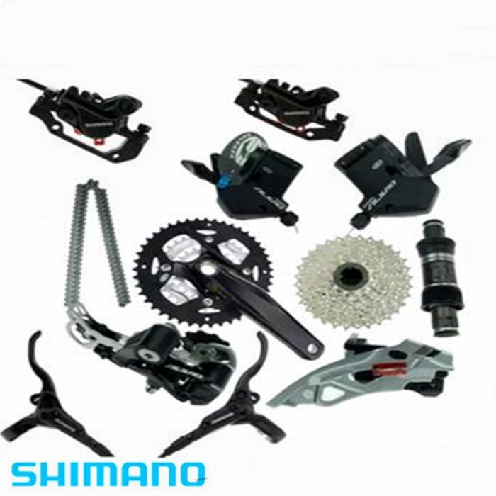 New Shimano Alivio M430 3x9 Speed Bike Groupset Bicycle Group Mountain 27-speed цена