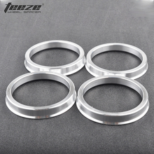 Car Auto Accessories wheel hub ring OD 74.1 to 56.1 Aluminum Alloy centric hub rings 4 pieces/ set