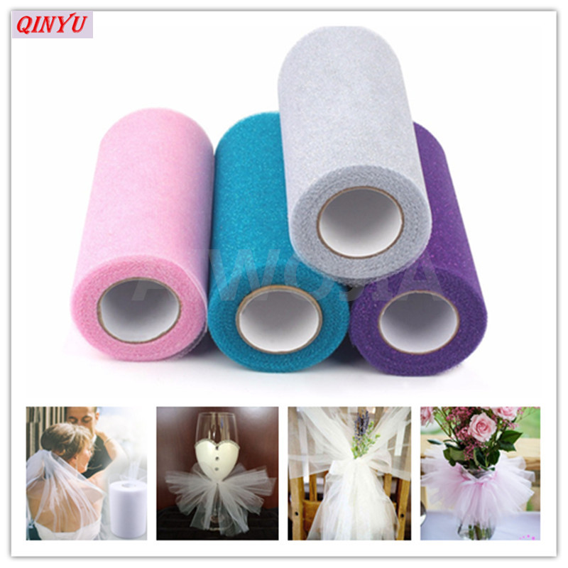 Festive & Party Supplies 15cm*22m Tulle Skirt Tutu Organza Baby Shower Party Birthday Gift Wrap Wedding Decoration Party Favors Event Supplies 7zsh759 Relieving Heat And Sunstroke