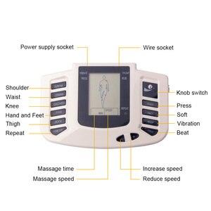 Image 3 - Estimulador muscular elétrico, conjunto de acupuntura com 8 elétrico para relaxamento do corpo, massageador muscular + caixa