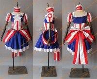 Бесплатная доставка, изготовленное на заказ, женское платье «мстители», «Капитан Америка», карнавальный костюм