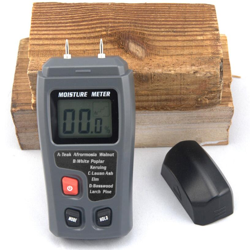 Moisture Meter Wood Cardboard Mixed soil Digital Moisture meter  цены