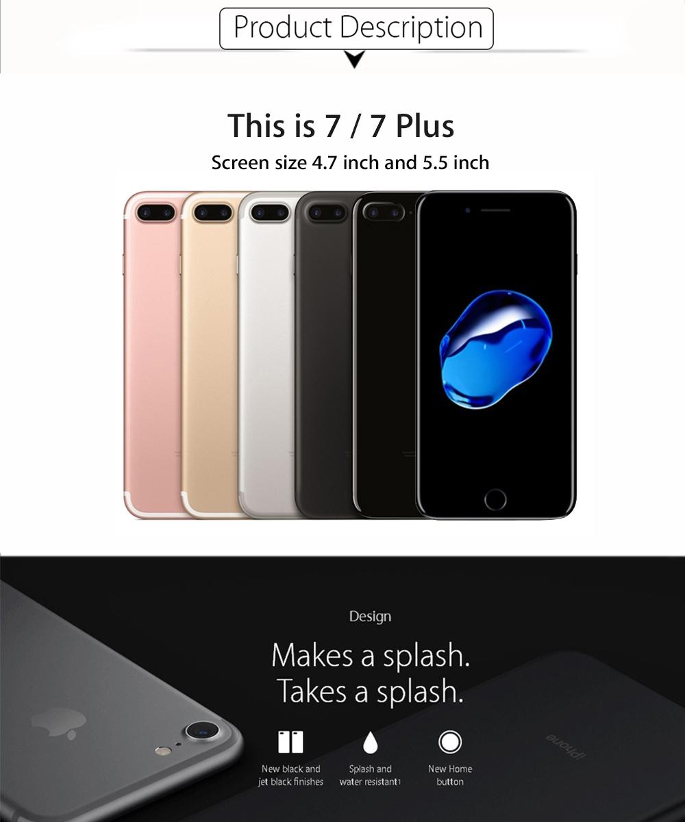 New Original Apple Iphone 7 Plus Mobile Phone 3gb Ram 32gb Rom Quad Jet Black Grs International 01