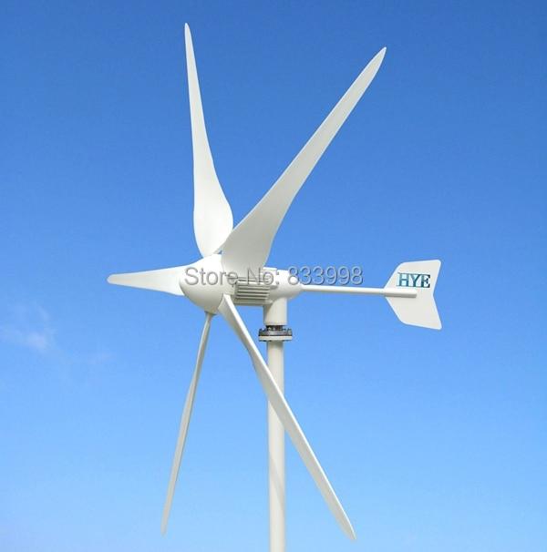 HYE on-grid wind power system part 1000w/1kw  wind turbine generator HY-1000L-110V