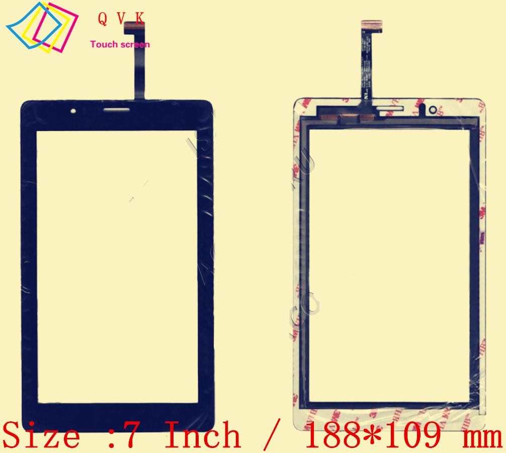 7 Inch for Fly Flylife Connect 7 3G 2 tablet pc capacitive touch screen glass digitizer panel Free shipping 7 85 inch touch screen for roverpad sky 7 85 3g black tablet pc digitizer glass panel with free repair tools