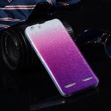 Para caso de silício lenovo vibe k5 glitter casos de telefone para lenovo vibração/K5 K5 além de Limão 3 A6020a40 Luxo Capa Soft Phone saco