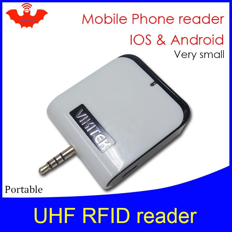 Lector RFID UHF micro lector portátil mini bolsillo VIKITEK VPR01 - Seguridad y protección