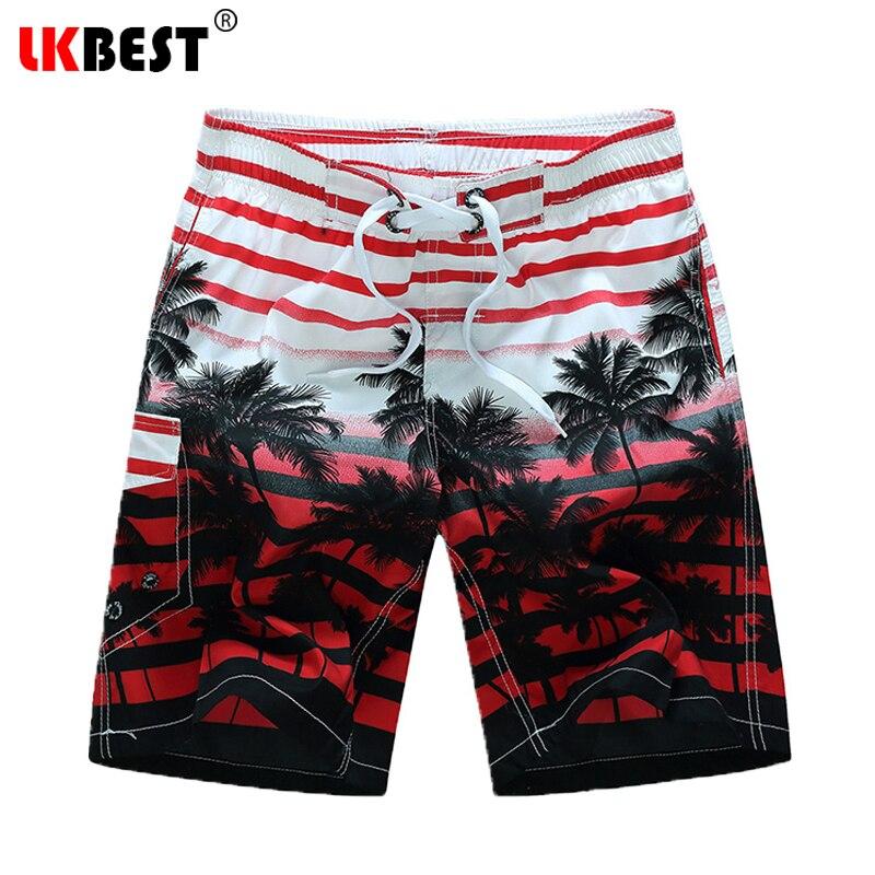 LKBEST Sommer plus Größe M-6XL Mens Strand Shorts elastische Taille - Herrenbekleidung - Foto 4