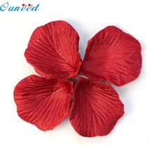Home Wider Ouneed    Lots 200pcs Red Colors Silk Flower Rose Petals Wedding Party Decorations Favor 915 Drop Shipping