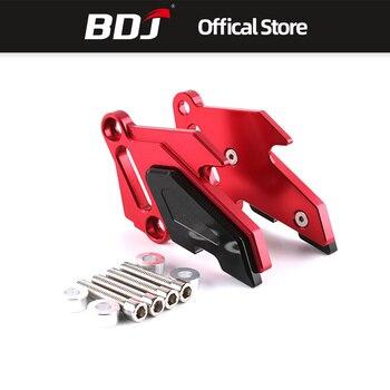 BDJ For Kawasaki Z800 Z 800 2013 2014 2015 2016 Motorcycle Rear Brake Disc Caliper Brakecaliper Guard Protector Cover Black Red