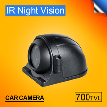 ZX-735 HD CCD front/side /left/right /rear view camera night vision metal side vehicle car waterproof park de recul