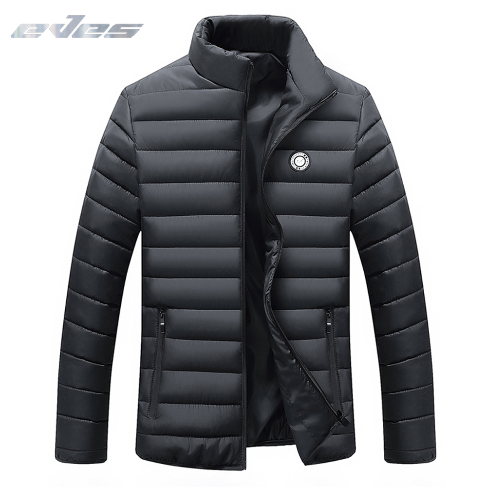 EVES jaqueta masculina Warm men   down   jacket Light Weight   down     coat   casaco masculino inverno Winter thin Duck   Down   Red Blue Black