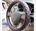 Cobertura de Volante de couro Microfibra carro directionnnal círculo coldre para Mini auto Mazda Jeep Volvo Nissan Porsche
