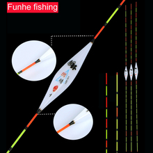 Sunny & Cloudy Day Twin-use Fishing Float Bobber Composite Nano Flotteur Peche Crucian Most well-liked Fishing Bobbers Equipment