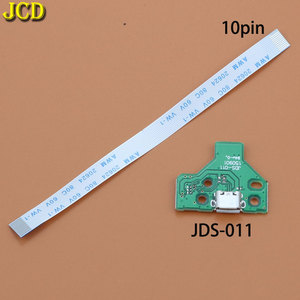 Image 3 - JCD ل PS4 تحكم USB ميناء الشحن شاحن مقبس مجلس مع الشريط فليكس كابل JDS 001 JDS 011 JDS 030 JDS 040 JDS 055