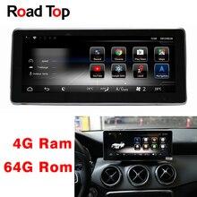 10,25 «Android 8 дисплей 4 + 64G Автомобильный радио мультимедиа gps навигационный головное устройство для Mercedes Benz GLA180 GLA200 GLA250 GLA220 GLA45