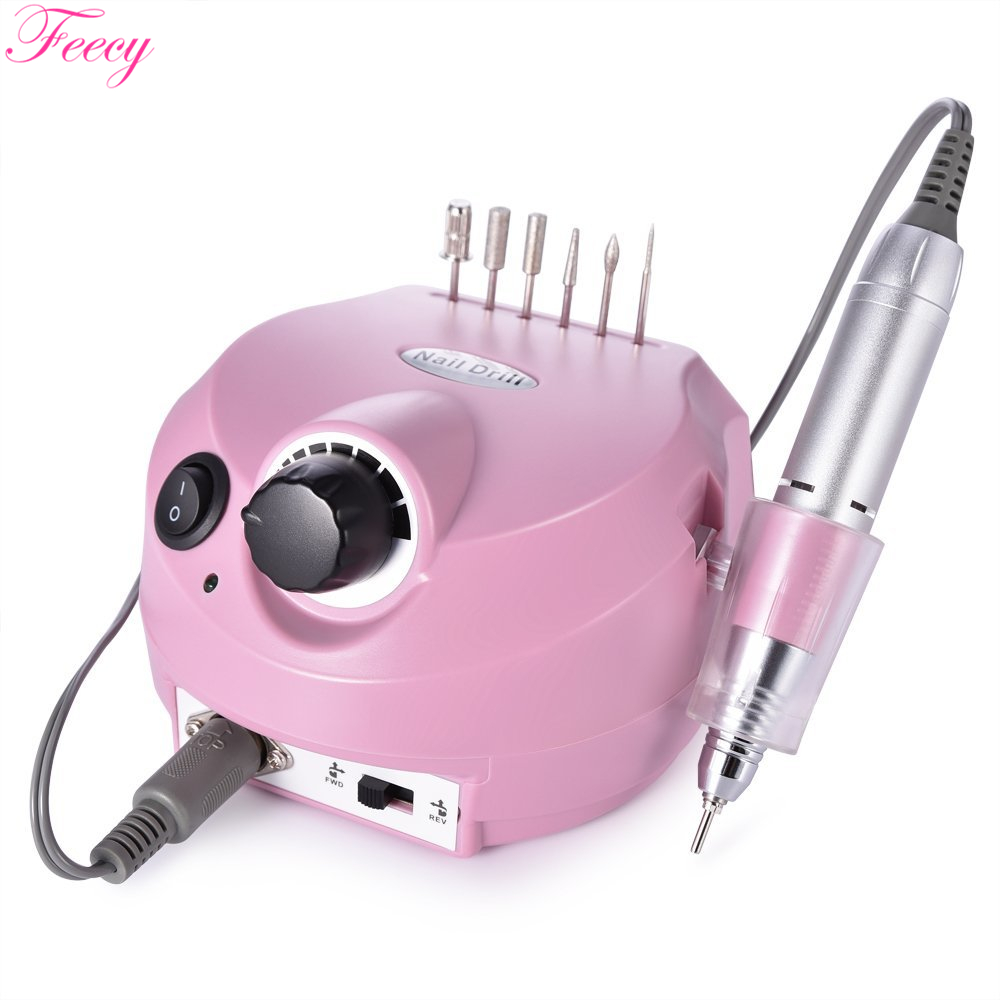 Electric Machine For Manicure And Pedicure Milling Machine For Nail Electric Nail Drill Mill For Manicure Nail Art Feecy
