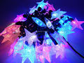 5pcs/lot Led Modeling Ball Star String light 5M 50led AC110V/220V Colorful Flashing Holiday Party Christmas Wedding Fairy lights