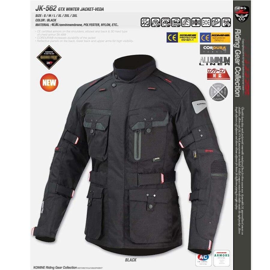 Livraison gratuite 1 set Motocross veste Moto coupe-vent imperméable garder au chaud hors route vêtements Moto costumes Moto veste et pantalon - 6