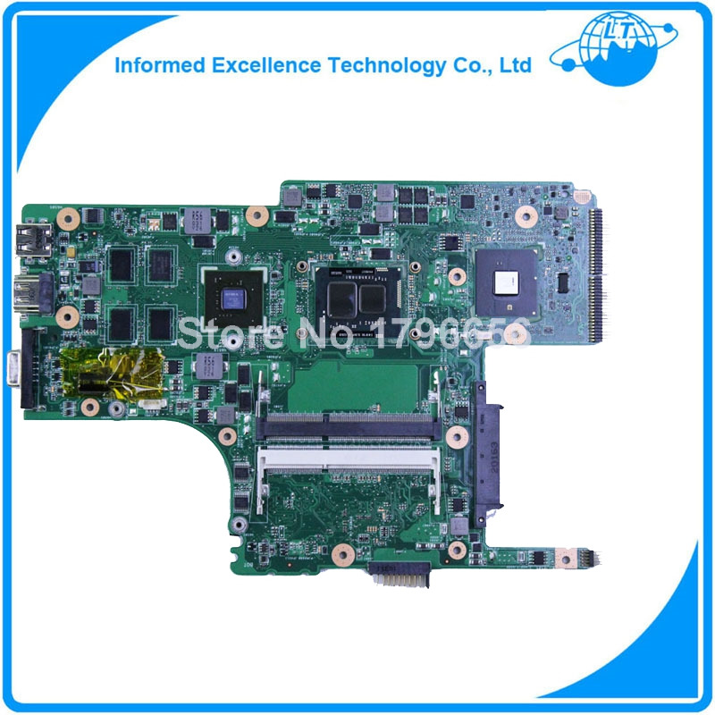 for asus UL30JT laptop motherboard for intel I5 cpu 520M with integrated graphics card 100% tested 45 days warranty for hp dv7 580974 001 laptop motherboard for intel cpu with 8 video chips non integrated graphics card