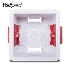 Wallpad único seco caja de revestimiento para tablero de yeso estándar británico 35mm caja de montaje de profundidad