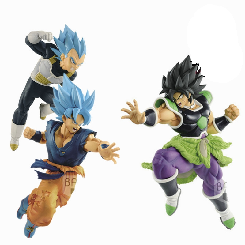 Toys & Hobbies Apprehensive Dragon Ball Z Super Saiyan Blue Vegeta Gokou Goku Broli Broly Ss Blue Action Figure Toy Doll Brinquedos Figurals Dbz Model Gift High Quality